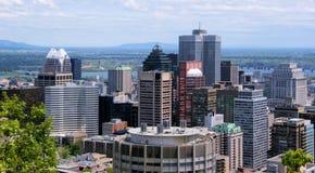 Een deel van Montreal Stock Foto