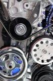 Een deel van motor van een auto Stock Fotografie