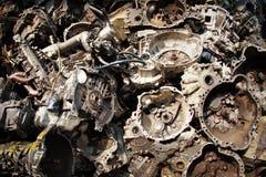 Een deel van motor van een auto Royalty-vrije Stock Afbeelding