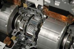 Een deel van motor van een auto Royalty-vrije Stock Afbeeldingen