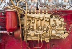 Een deel van motor van een auto Royalty-vrije Stock Fotografie