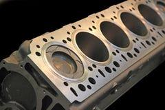 Een deel van motor van een auto Stock Foto's
