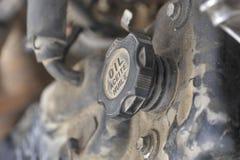 Een Deel van Motor van een auto Stock Afbeeldingen