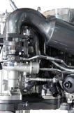Een deel van motor van een auto Stock Foto