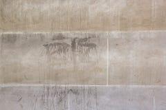 Een deel van muur als achtergrond Royalty-vrije Stock Fotografie