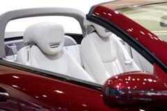 Een deel van nieuwe auto royalty-vrije stock afbeeldingen