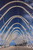Een deel van Olympisch Stadion Athene, Griekenland Stock Foto's