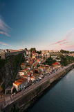 Een deel van Porto stad in Portugal Royalty-vrije Stock Afbeelding