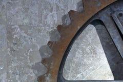 Een deel van een reuzetoestel stock fotografie