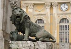 Een deel van standbeeld van Garibaldi royalty-vrije stock foto