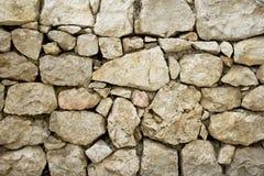 Een deel van een steenmuur, voor achtergrond of textuur royalty-vrije stock afbeelding