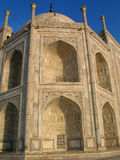 Een deel van Taj Mahal Stock Foto