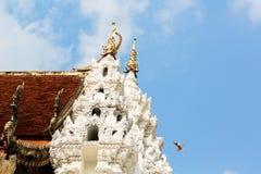 Een deel van tempel Stock Afbeelding