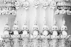 Een deel van tempel Stock Afbeeldingen