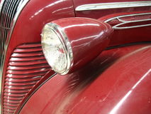 Een deel van uitstekende auto Stock Foto