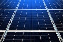 Een deel van vernieuwbare zonne-energie royalty-vrije stock foto
