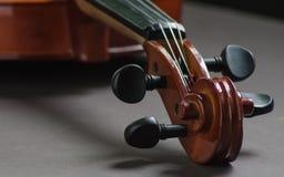 Een deel van viool royalty-vrije stock foto
