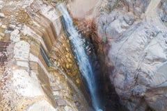 Een deel van vroegere hydro-elektrische installatie in Garganta del Diablo vallei dichtbij Tilcara-dorp, Argenti royalty-vrije stock afbeelding