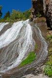 Een deel van waterval in Jermuk, Armenië royalty-vrije stock afbeeldingen