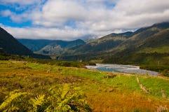 Een deel van zuidelijke alpen Stock Afbeeldingen