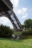 Een deelpartij van de Toren van Eiffel Royalty-vrije Stock Foto