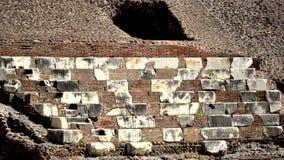 Een detail in Coliseum Stock Afbeeldingen