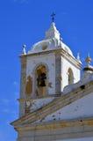 Een detailmening van het overladen metselwerk op St Anthony Kerk in Lagos Portugal Stock Afbeelding