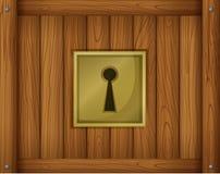 Een deurslot vector illustratie