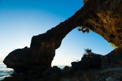 Het dichte Natuurlijke Oriëntatiepunt Neil Island van de Brug Royalty-vrije Stock Afbeelding