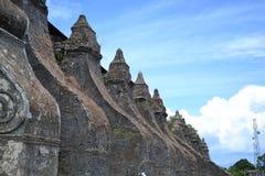 Een Dichtere Blik van Paoay-Kerk Stock Foto