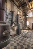 een distilleerderij van de laatste eeuw stock afbeelding