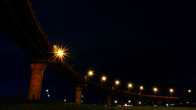 Een donkere nacht Stock Fotografie