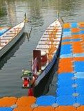Een draakboot stock foto