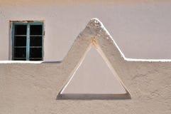 Een driehoek in een muur Royalty-vrije Stock Foto's