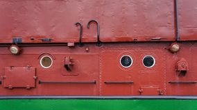 Een Duitse boot in Bremerhaven stock fotografie