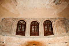 Een edele bouw door Mughals Stock Fotografie