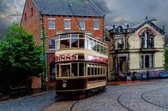 Een Edwardian-Tram stock foto