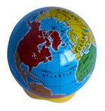 Een eenvoudig model van Aarde in het Engels Stock Foto