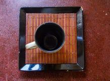 Een eenvoudige Kop van Koffie stock foto's