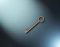 Een eenvoudige sleutel Royalty-vrije Stock Foto