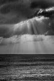 Een eenzame bewolkte dag Stock Afbeeldingen