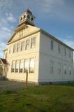 Een eeuw oud schoolhuis Royalty-vrije Stock Afbeeldingen