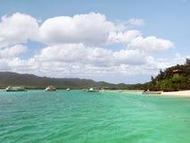 Een eiland in de archipel van Okinawa in Japan Stock Afbeelding
