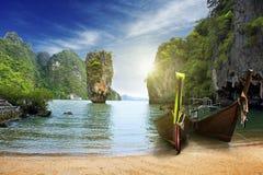 Een eiland in Thailand Stock Afbeeldingen