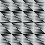 Een elegante geometrische vierkante tegel Royalty-vrije Stock Afbeeldingen