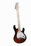 Een elektrische gitaar Stock Afbeeldingen