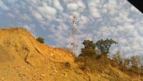 Een elektrische toren stock afbeeldingen