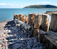 Een Engels Strand van de Kust Stock Fotografie
