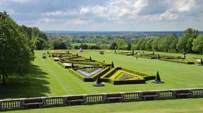 Een Engelse Gemodelleerde Tuin royalty-vrije stock fotografie