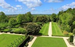 Een Engelse Gemodelleerde Tuin royalty-vrije stock foto's